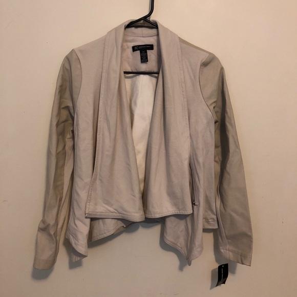 INC International Concepts Jackets & Blazers - INC Jacket - Beige